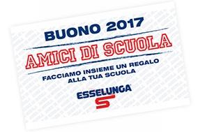 Porta i BUONI ESSELUNGA al Liceo Foppa!
