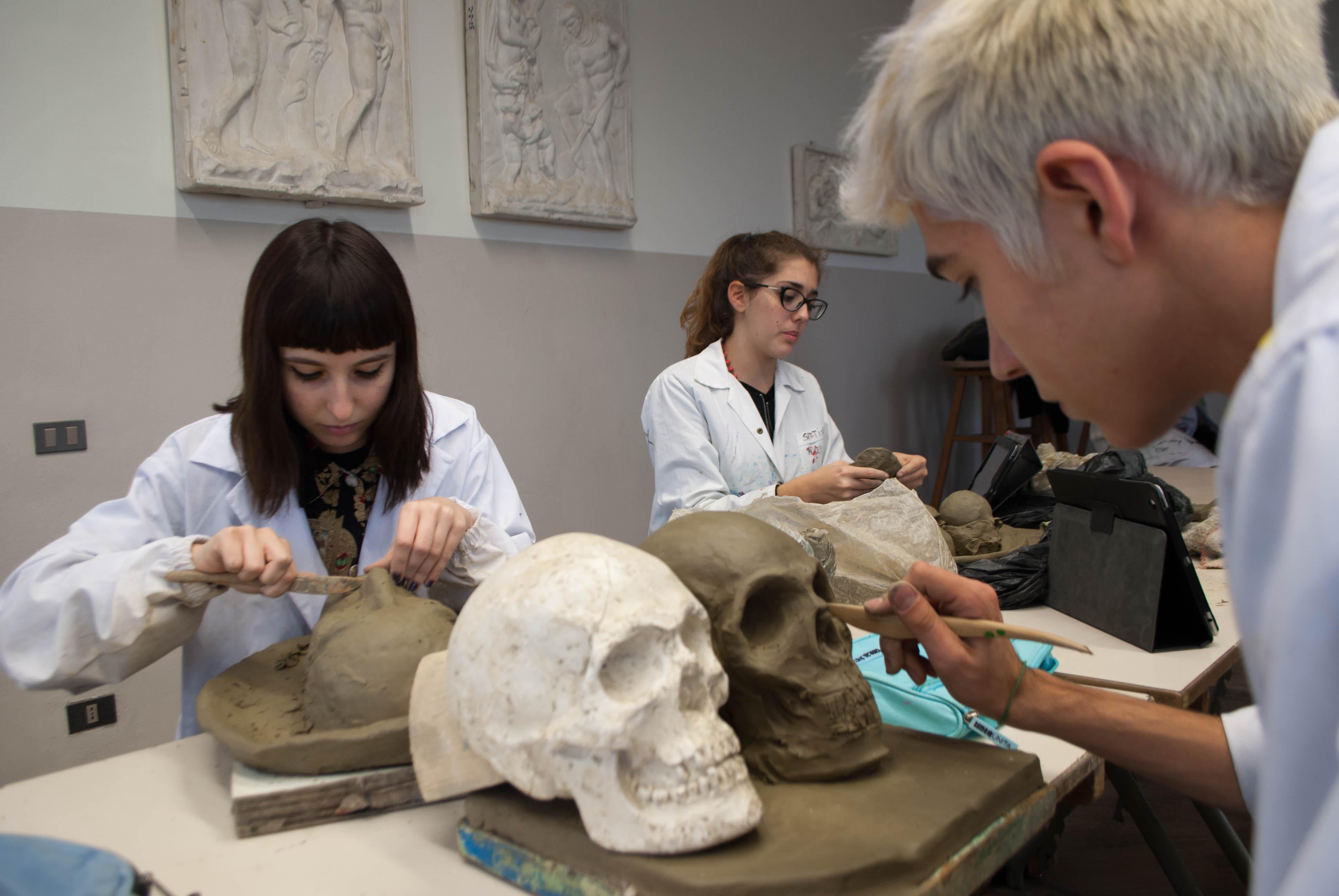 Laboratorio artistico liceo Foppa Brescia