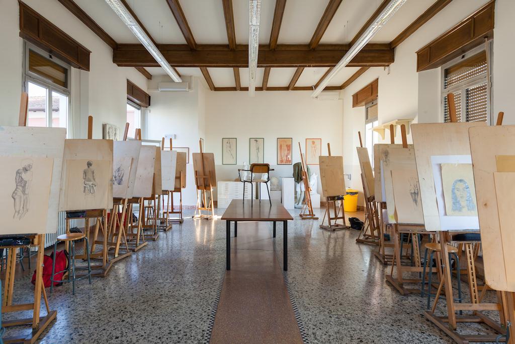 Laboratorio della Figurazione del Liceo Foppa Brescia