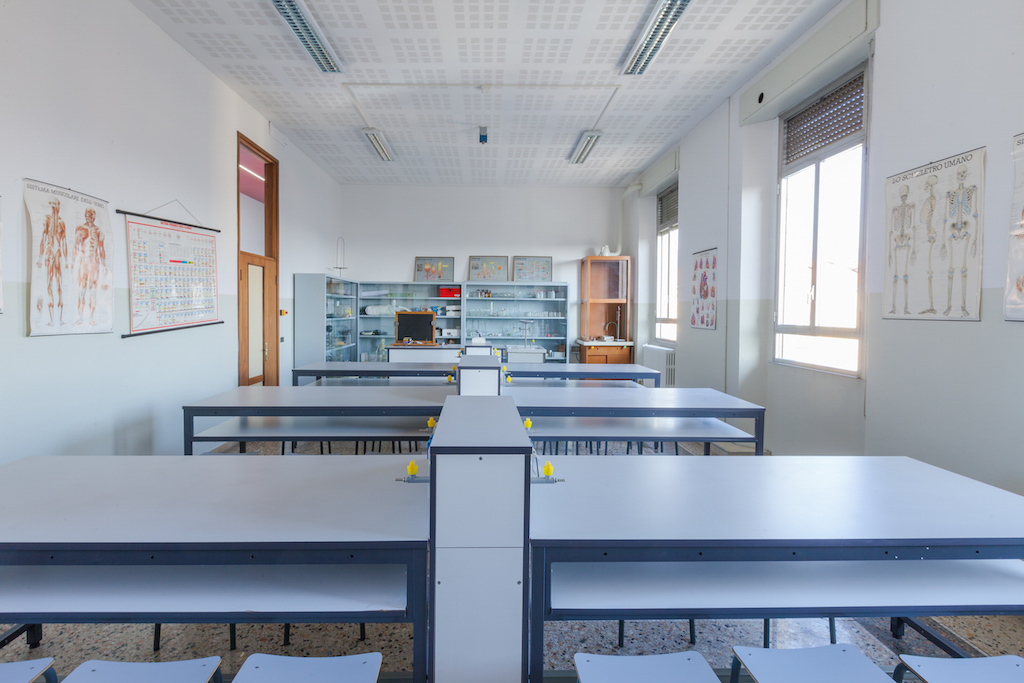 Laboratorio di Scienze del Liceo Foppa Brescia